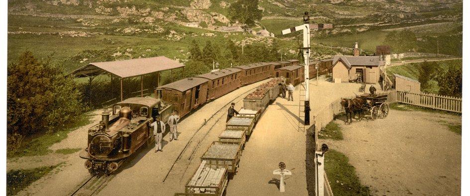 Ffestiniog Railway - c1900
