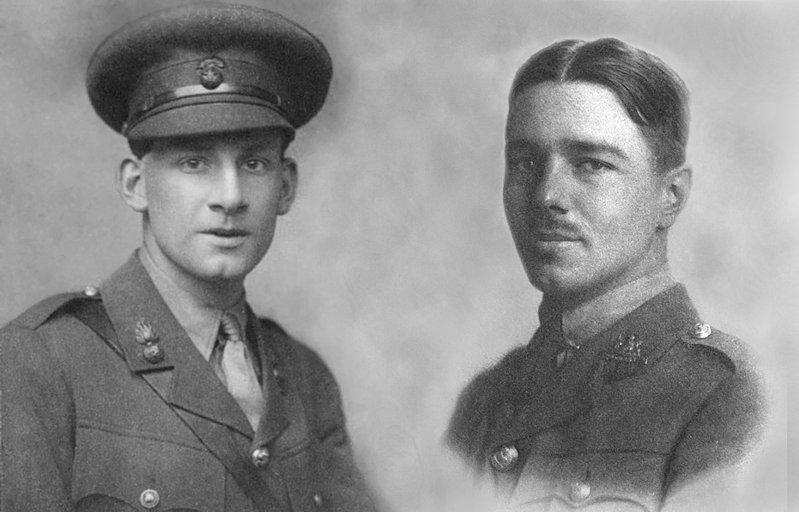 Siegfried Sassoon and Wilfred Owen